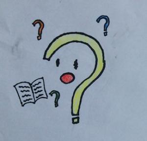 勉強モンスター:はてな〜?
